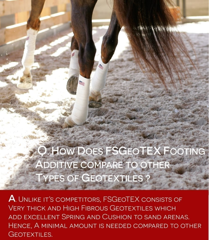 maintaining arena footing