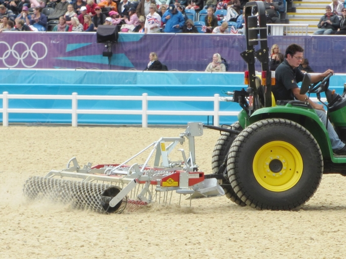 Arena Groomer at the Olympics