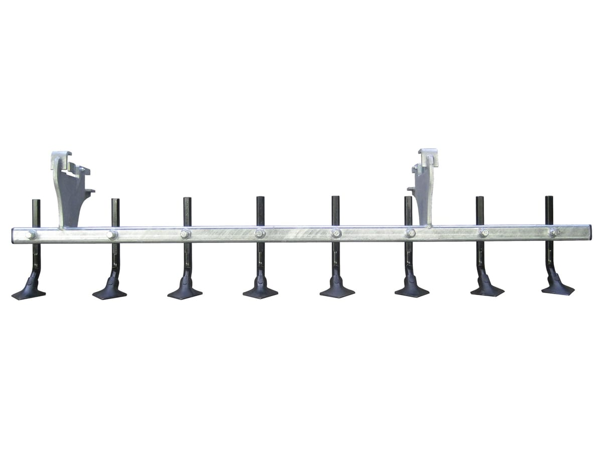 Ripper tines attachment for arena drag