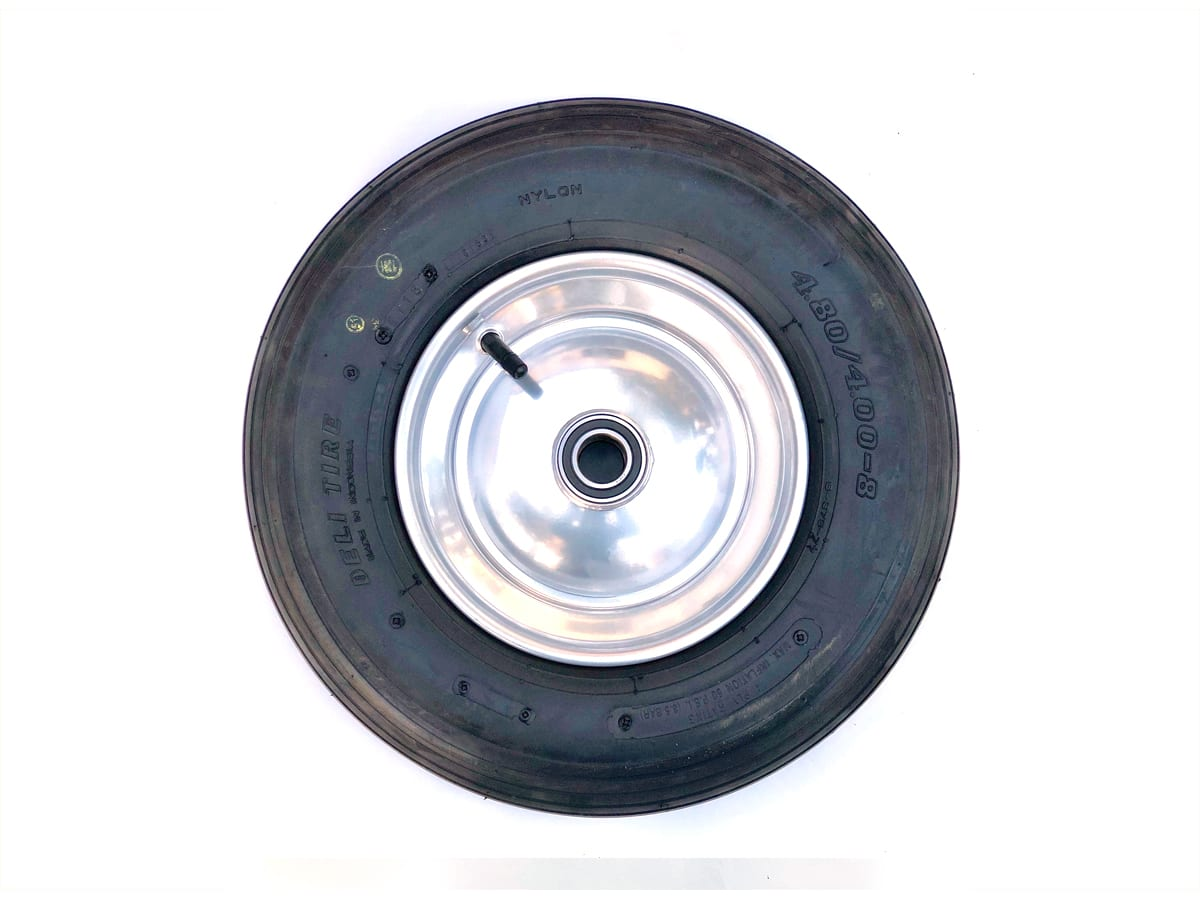 Wheel and tire for Platz Max Roll arena drag