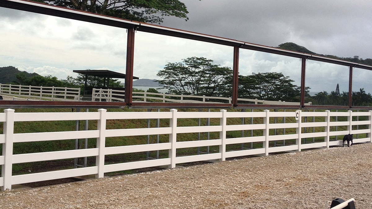 Mirrors in Outdoor Arena