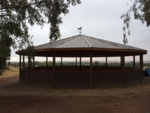 Round Pen with Arena Mats