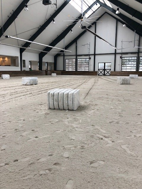 FSGeoTEX bales ready to be installed