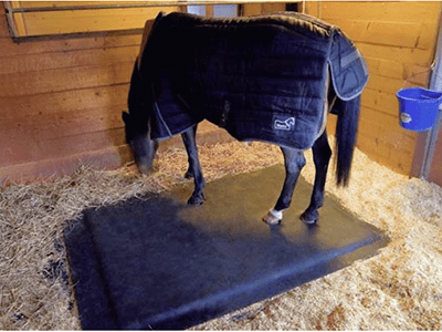 One SoftBed Comfort mat is all you need in a stall