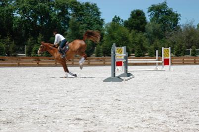 jumping footing