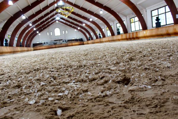 beautiful indoor riding arena