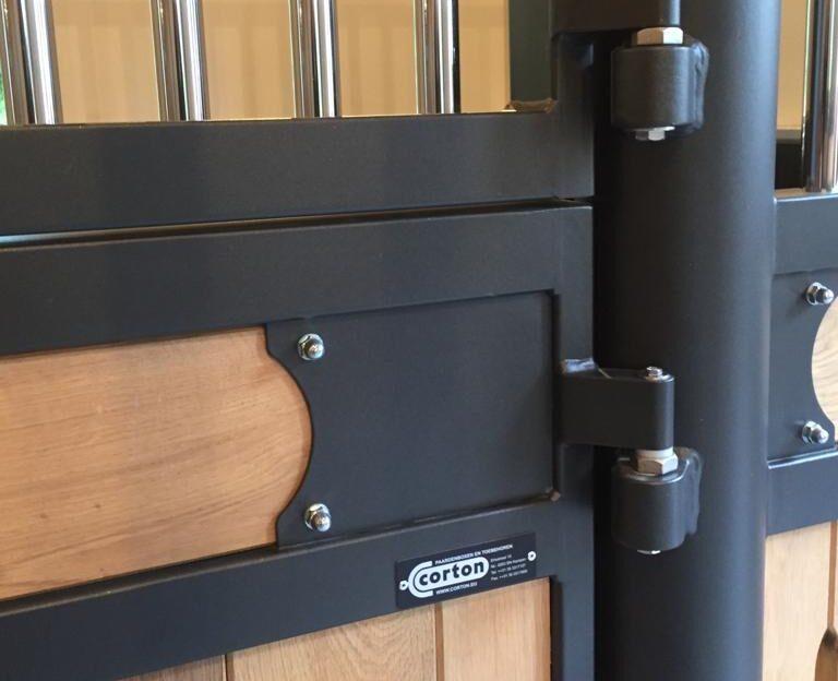 stall door hinges