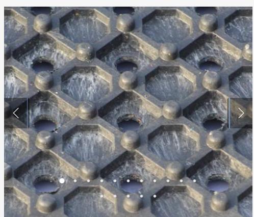 base mat up close
